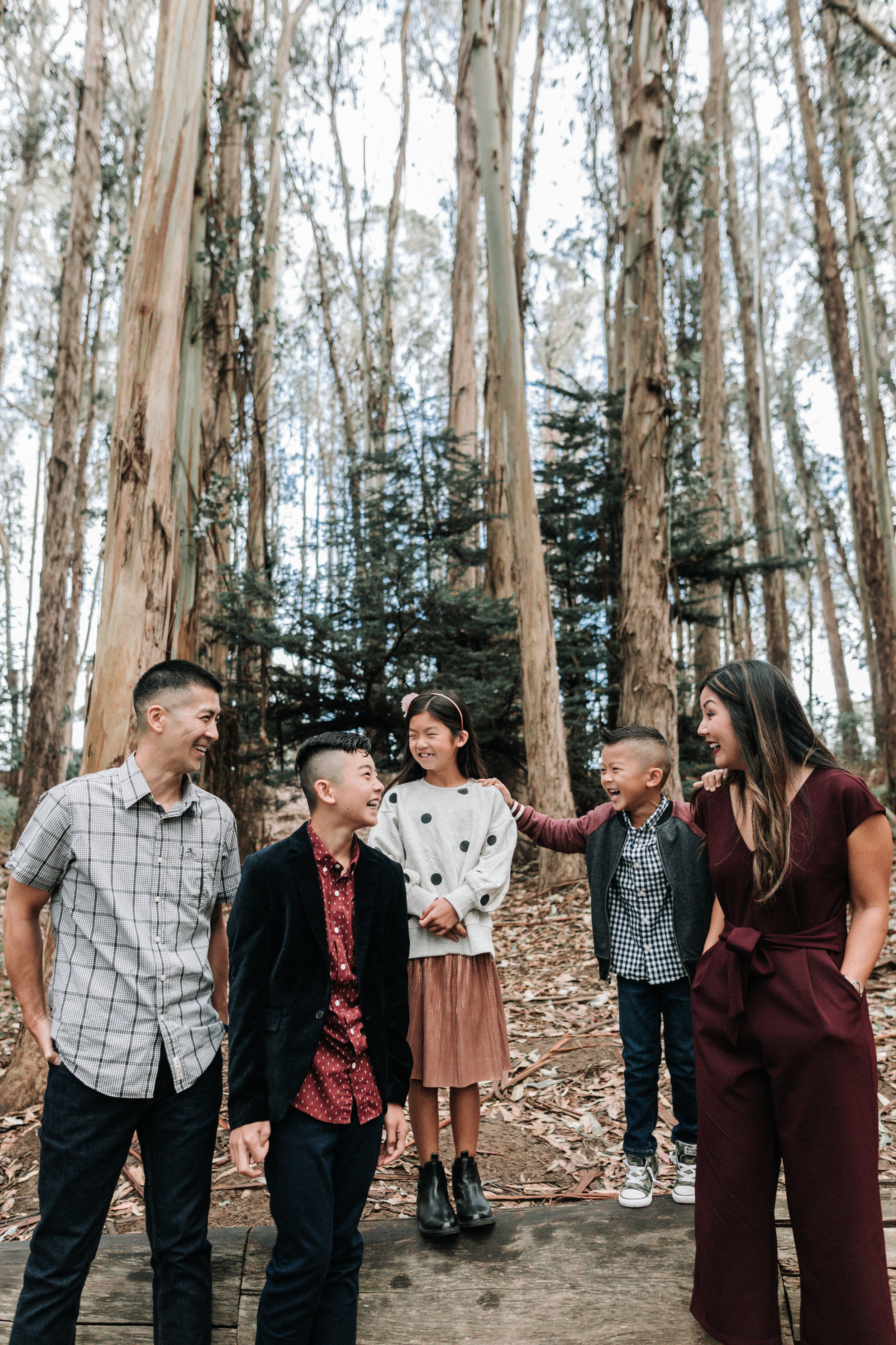 Arlene Easterwood Photography SF San Francisco Bay Area Family Photographer Presidio Lovers Lane