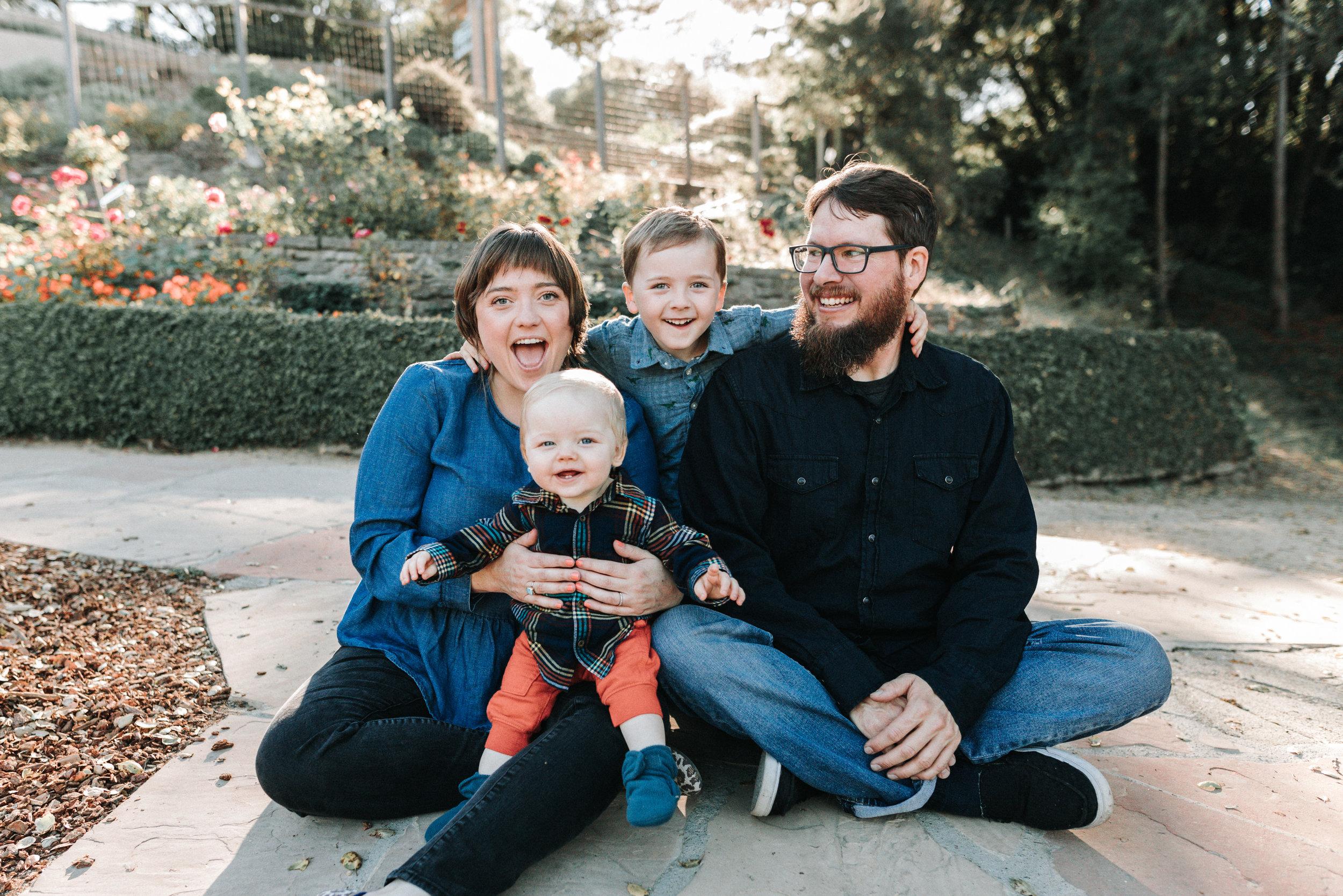 Arlene Easterwood Photography SF Bay Area Family Photographer Berkeley Rose Garden