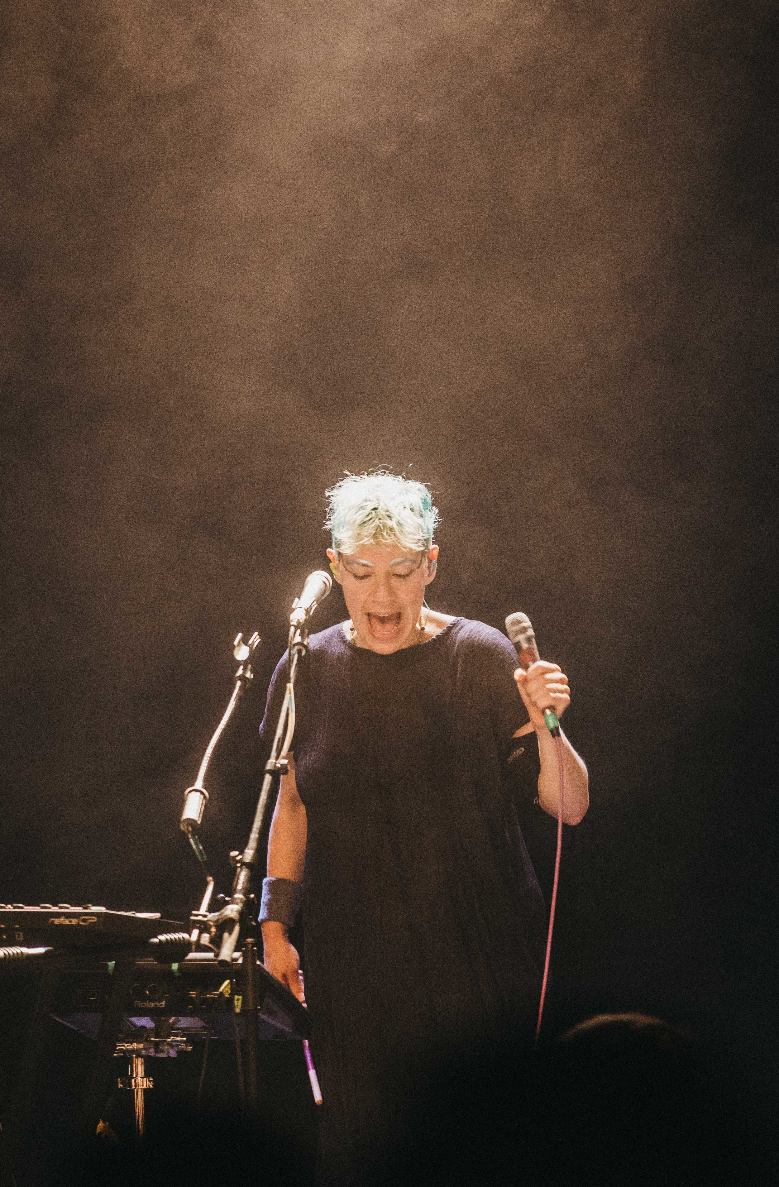 Tune-Yards at the Garrick Centre, June 22 2018  Photo by Travis Ross