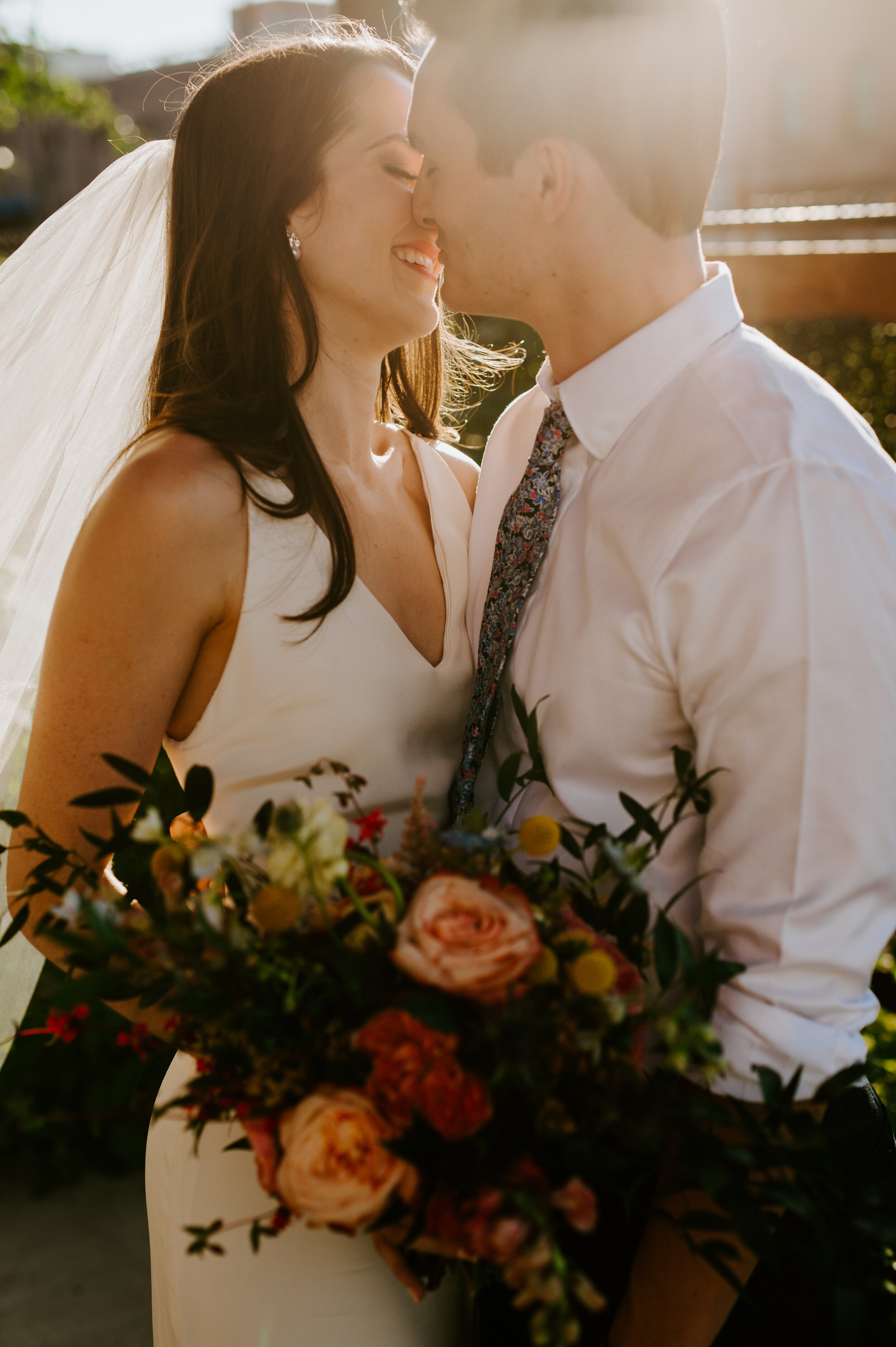 """""""Melissa is simply amazing … - it was a true collaboration, which made seeing the final product even more special! She is a true professional and I trusted her throughout the entire process. I would hire Passiflora Farm again in a heartbeat and highly recommend to anyone who wants gorgeous floral to liven up their venue!"""" - Leah"""