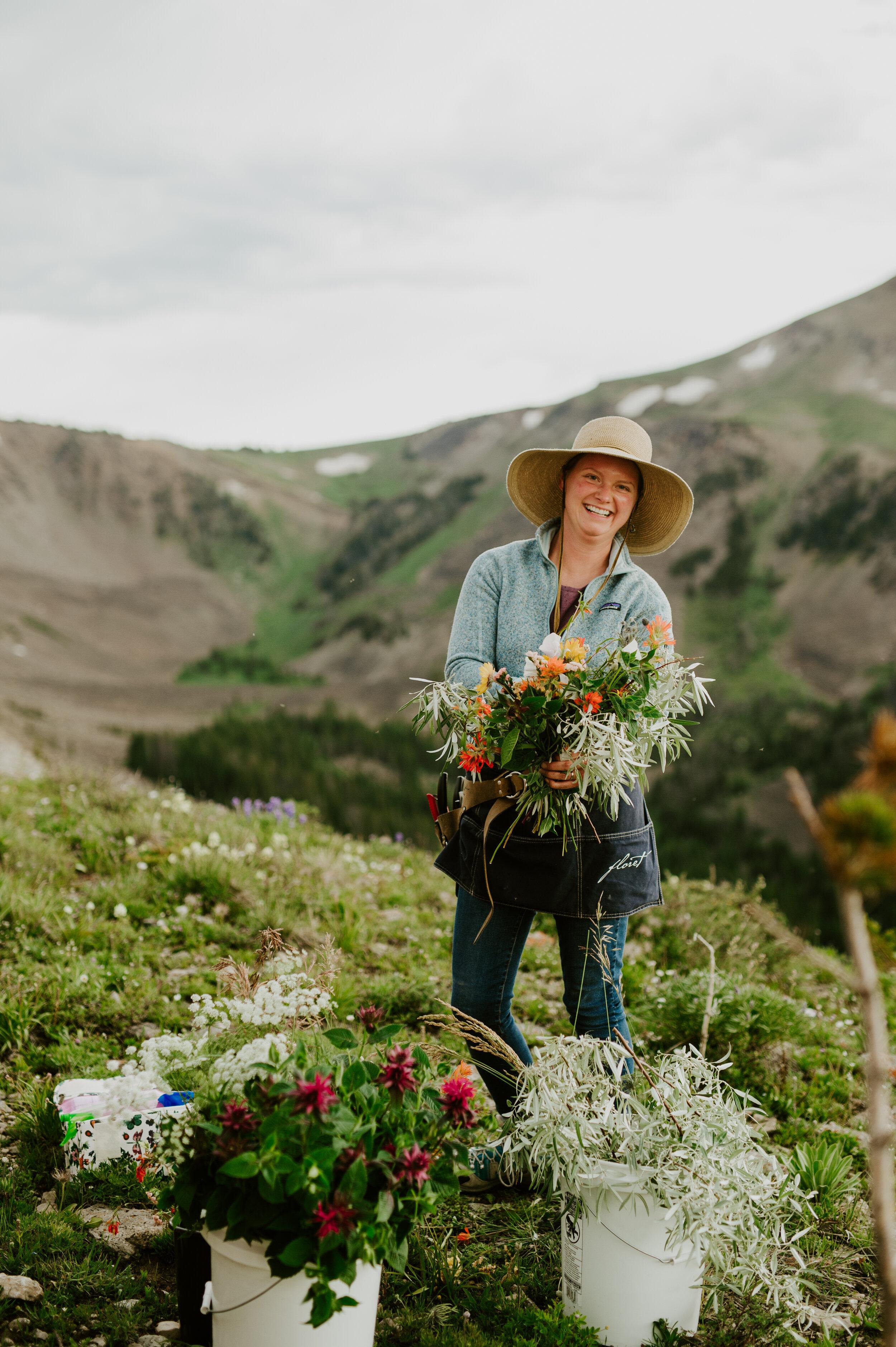 Melissa Urick Wedding Floral Designer Flower Farmer Wyoming