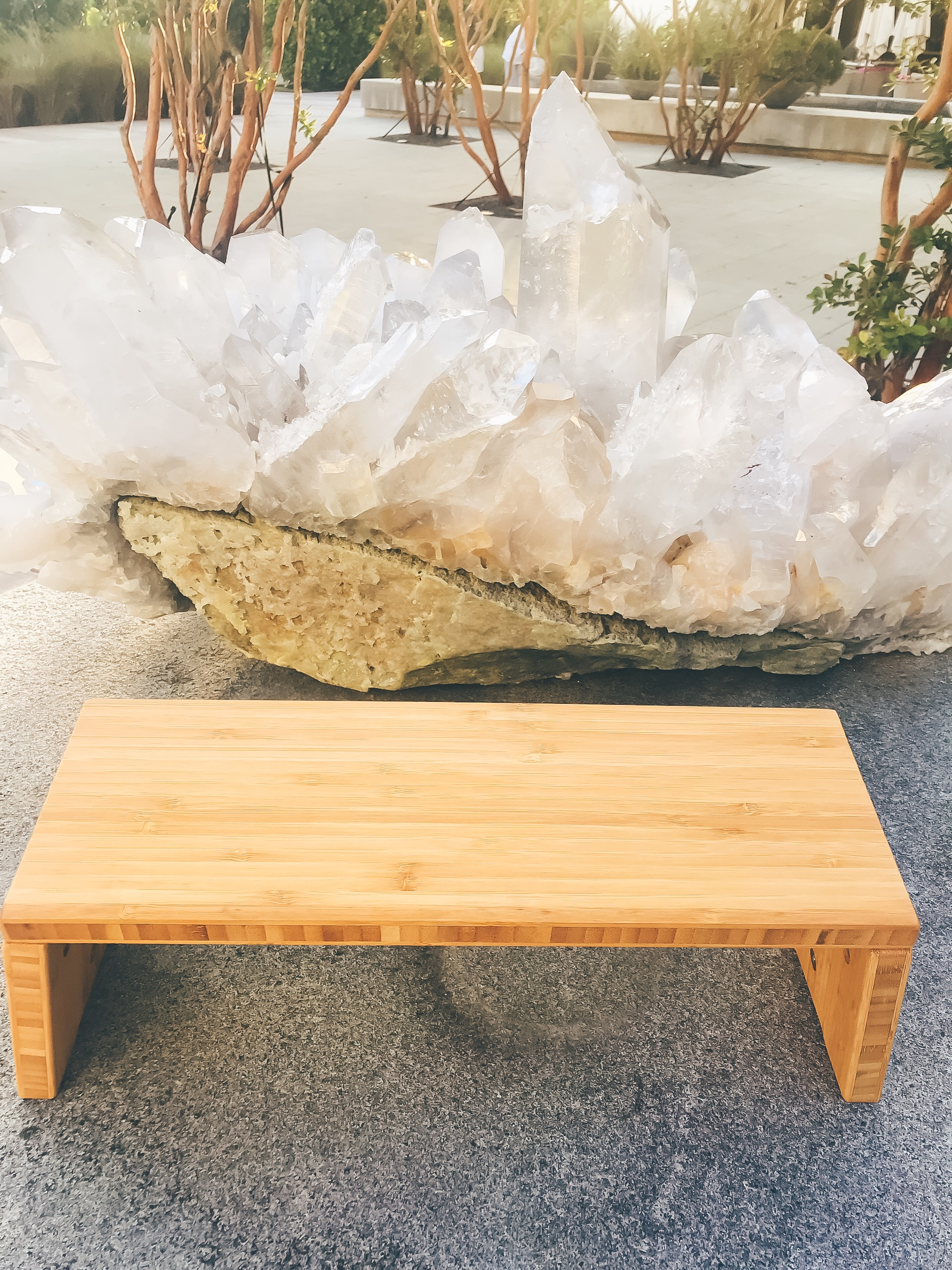 Travel-Sized Meditation Bench - If you were following along on my instagram stories during my recent Miami trip to The Sacred Space Miami, you may remember my delight with Stoolyoga's meditation bench. It fits perfectly in a carry-on, folds up easily and is a perfect prop to get you excited to meditate  when you are out and about.Stoolyoga has offered our community 15% off with the code AG15OFF if you want to add a new meditation bench to your meditation travel routine.