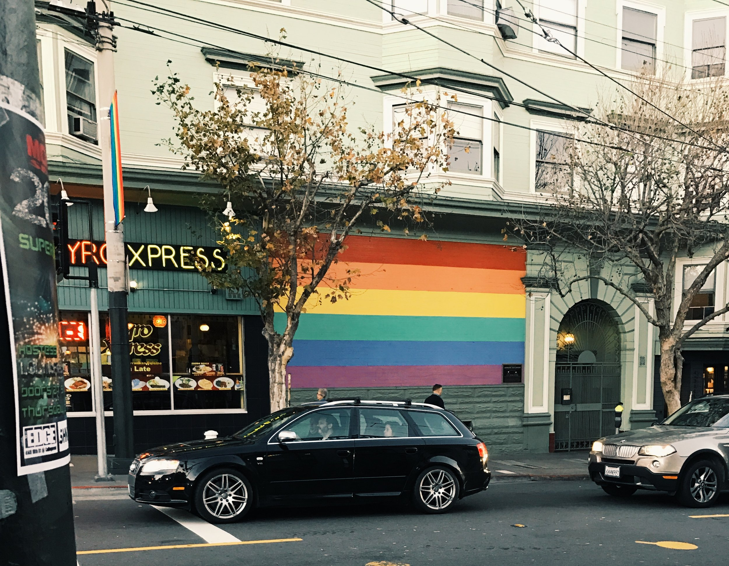 The Castro neighborhood in San Francisco, a favorite area of mine.