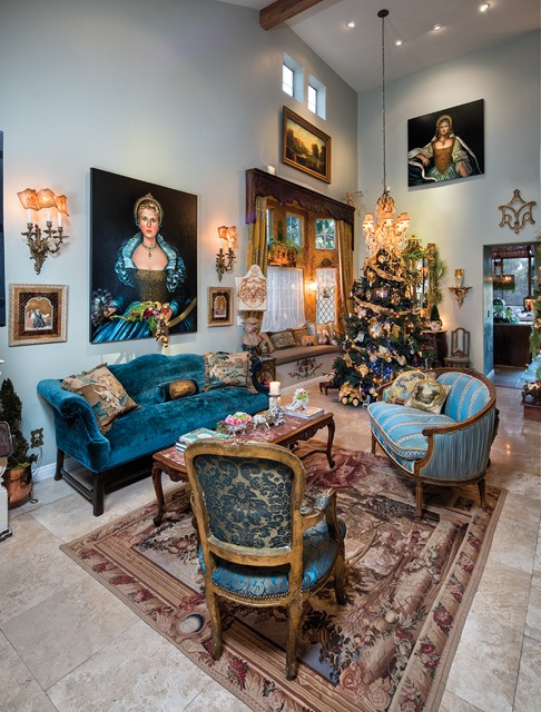 Wide Angle Room View Holiday Design by Jennifer Chapman