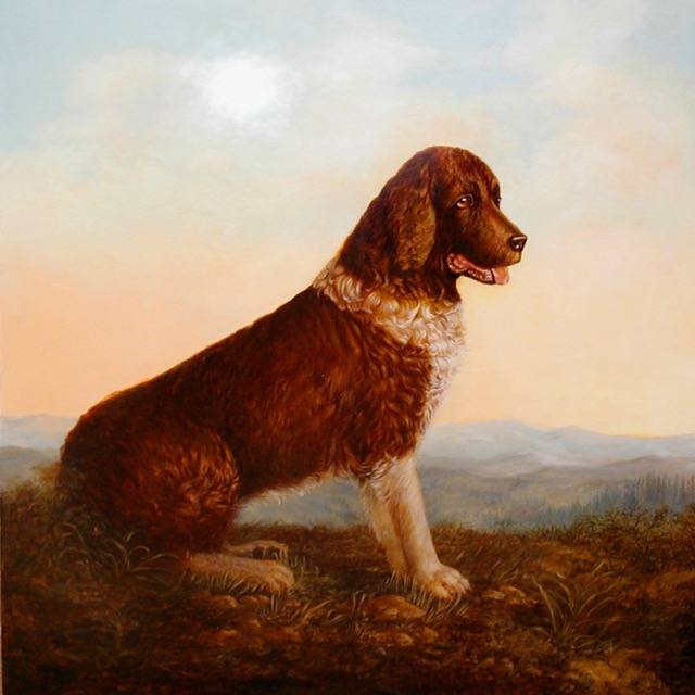 Springer Spaniel Painting by Jennifer Chapman