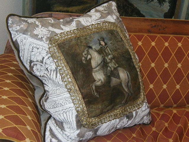 Horseback Pillow from the Masterpiece Collection by Jennifer Chapman