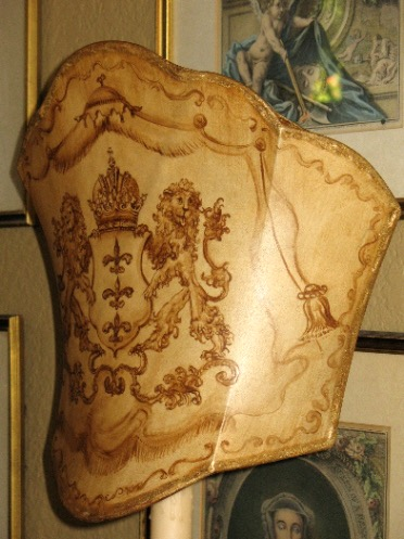 Close Up of Lion Lampshade from the Masterpiece Collection by Jennifer Chapman
