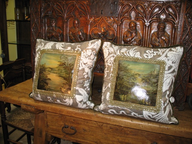 Landscape Pillow Duo from the Masterpiece Collection by Jennifer Chapman