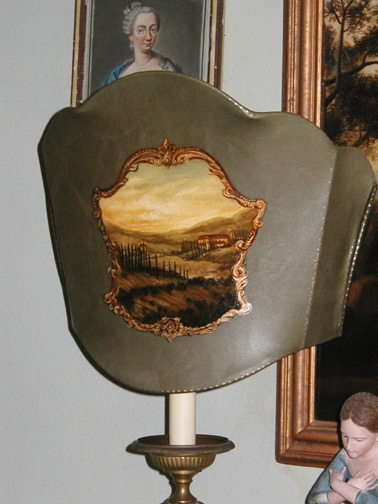 Landscape Lampshade from the Masterpiece Collection by Jennifer Chapman