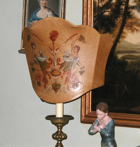 Ladies Lampshade from the Masterpiece Collection by Jennifer Chapman