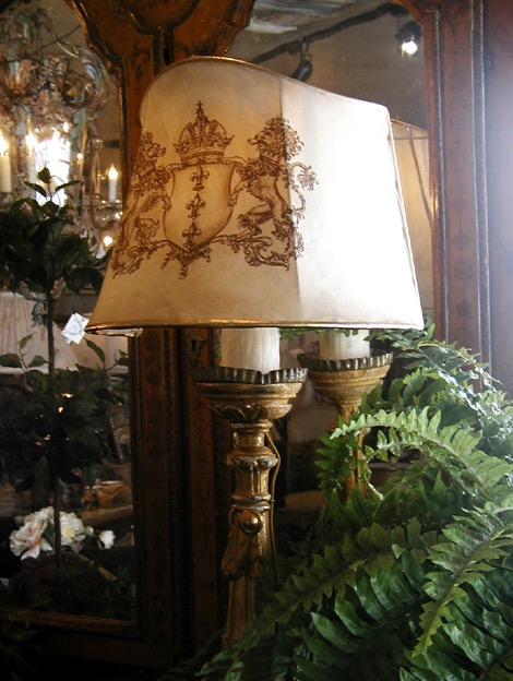 Lion Lampshade from the Masterpiece Collection by Jennifer Chapman