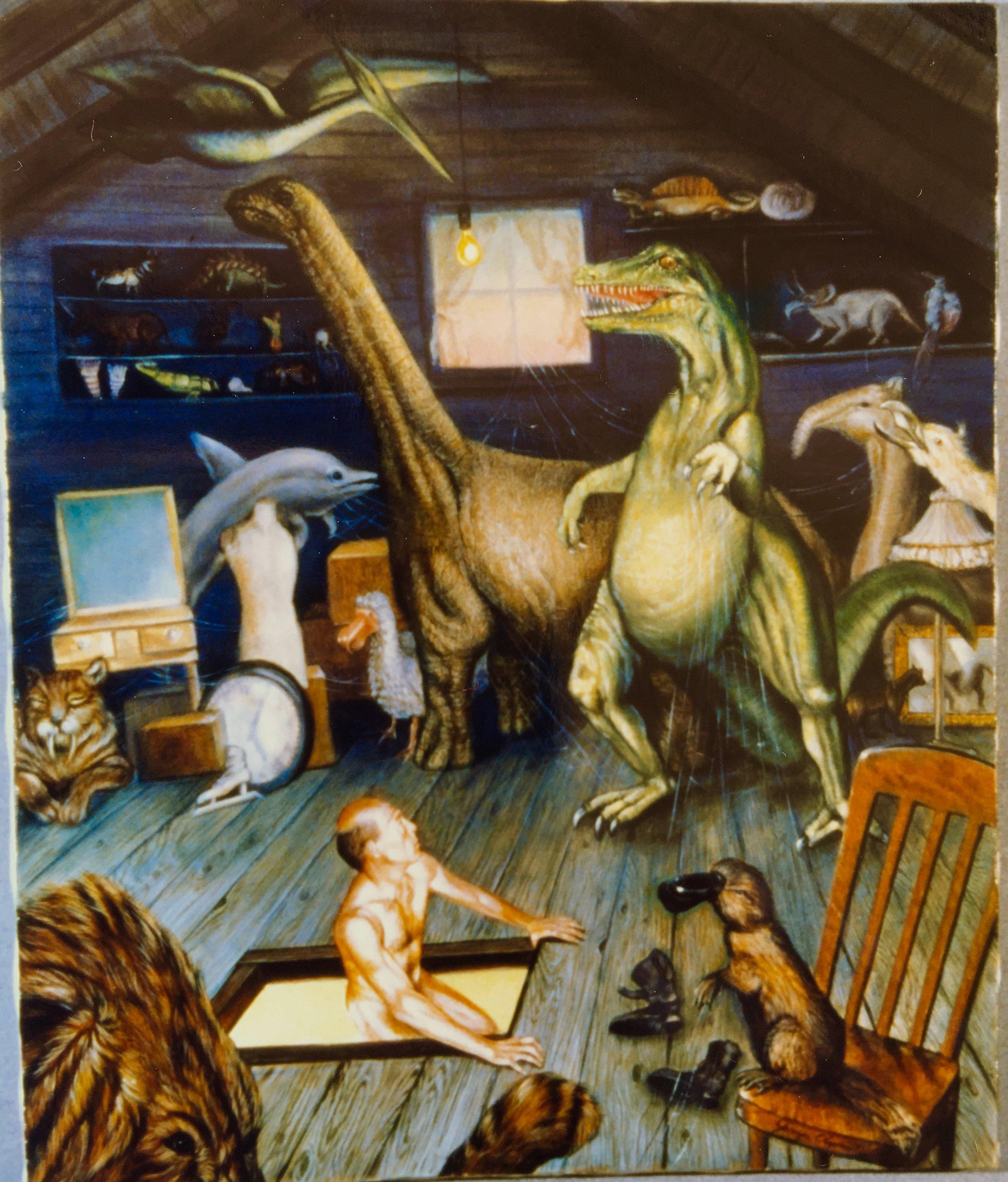 The Attic Painting by Jennifer Chapman