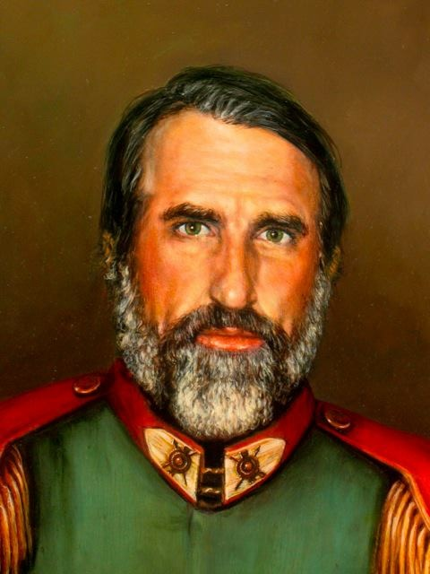 Close Up of General Portrait by Jennifer Chapman