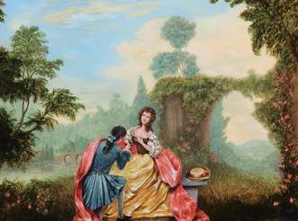 Proposal Painting by Jennifer Chapman