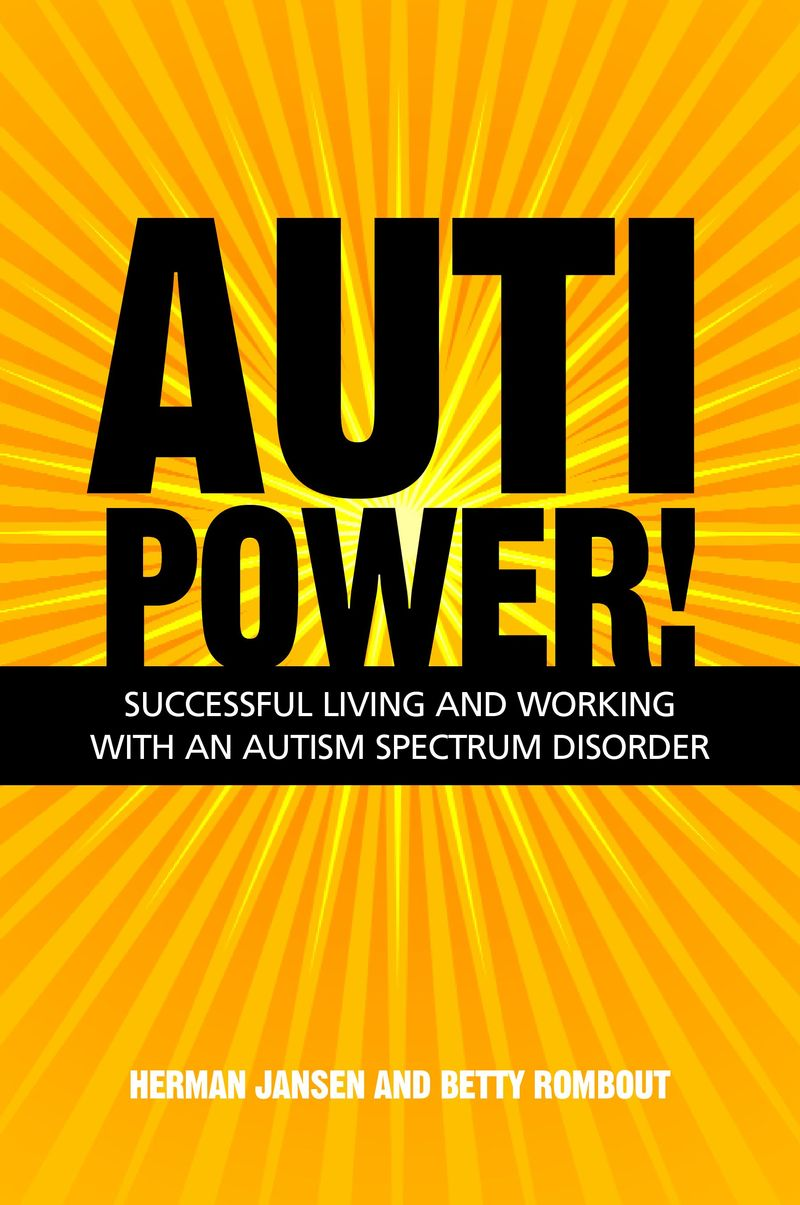 Auti Power! - Auto Power is a book published by Jesuca Kinsgley Publishers , the book is a series of interviews with Autistic adults who consider themselves to be successful in some way , this book can be very useful for parents.