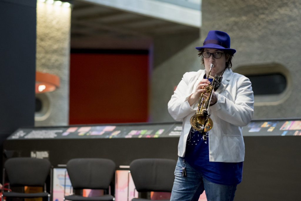 March 2019 - I played at the Barbican as part of my Drake music commission