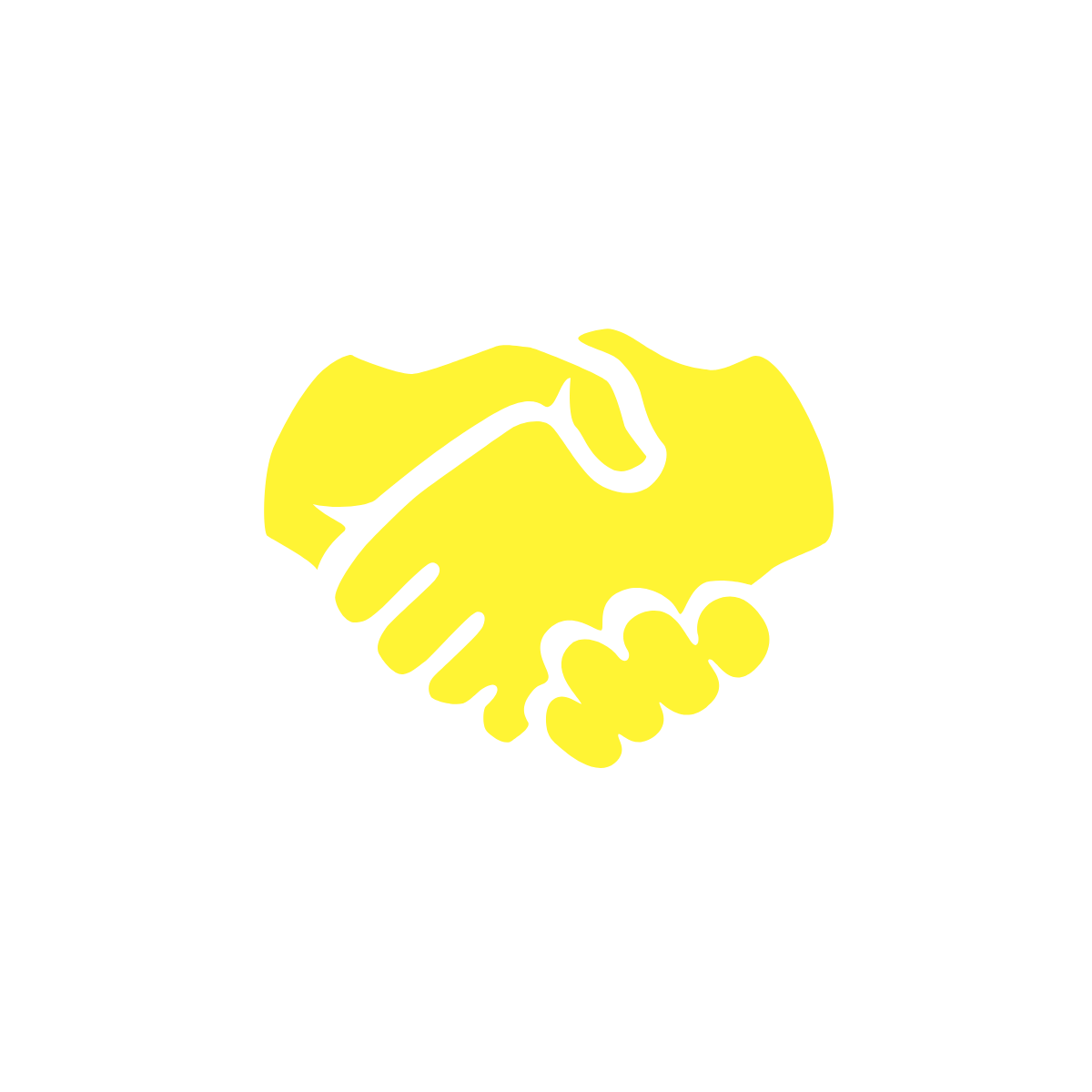 2 hands doing a handshake