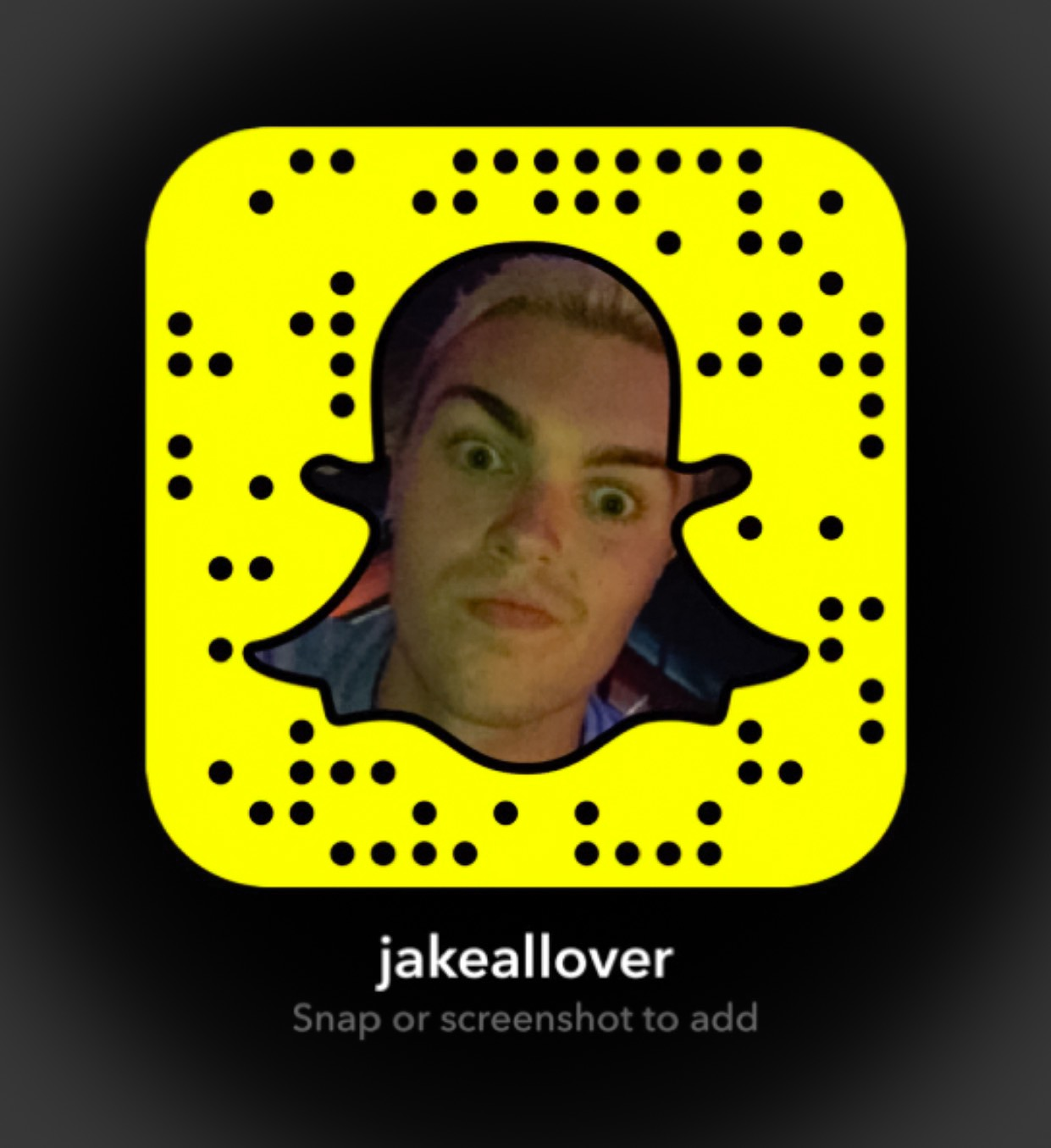 Want to know where I'm headed? Add me on Snapchat at jakeallover!