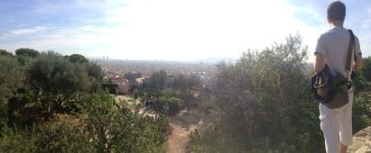 Views from the top of Parc Guell.