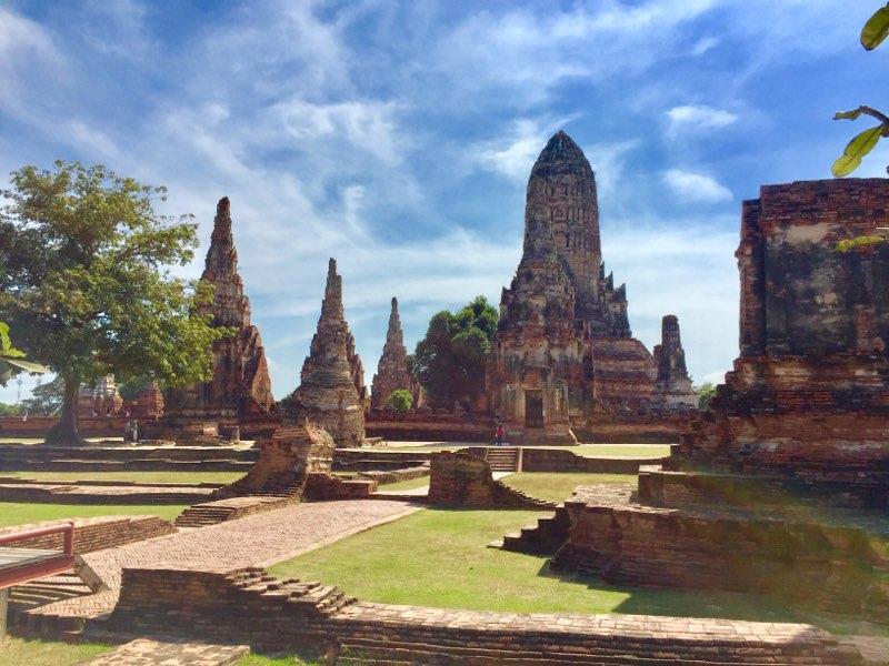 Temples in Ayutthaya, Thailand