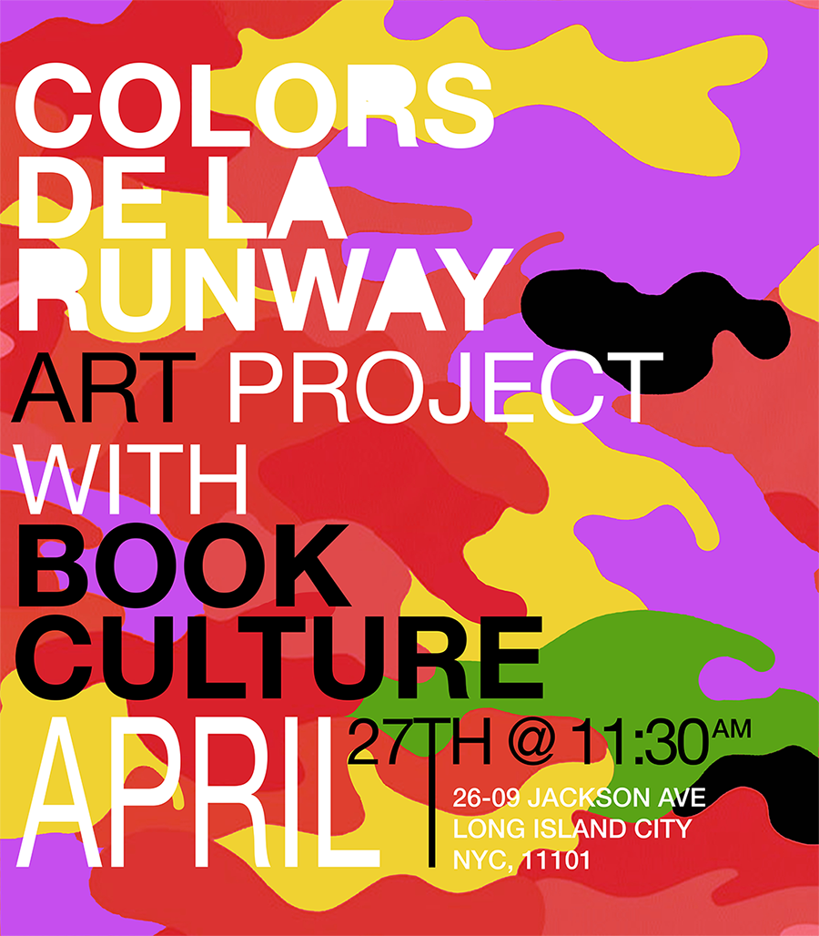 ART PROJECT WITH BOOK CULTURE|  APRIL 27TH, 2019 @ 11:30AM