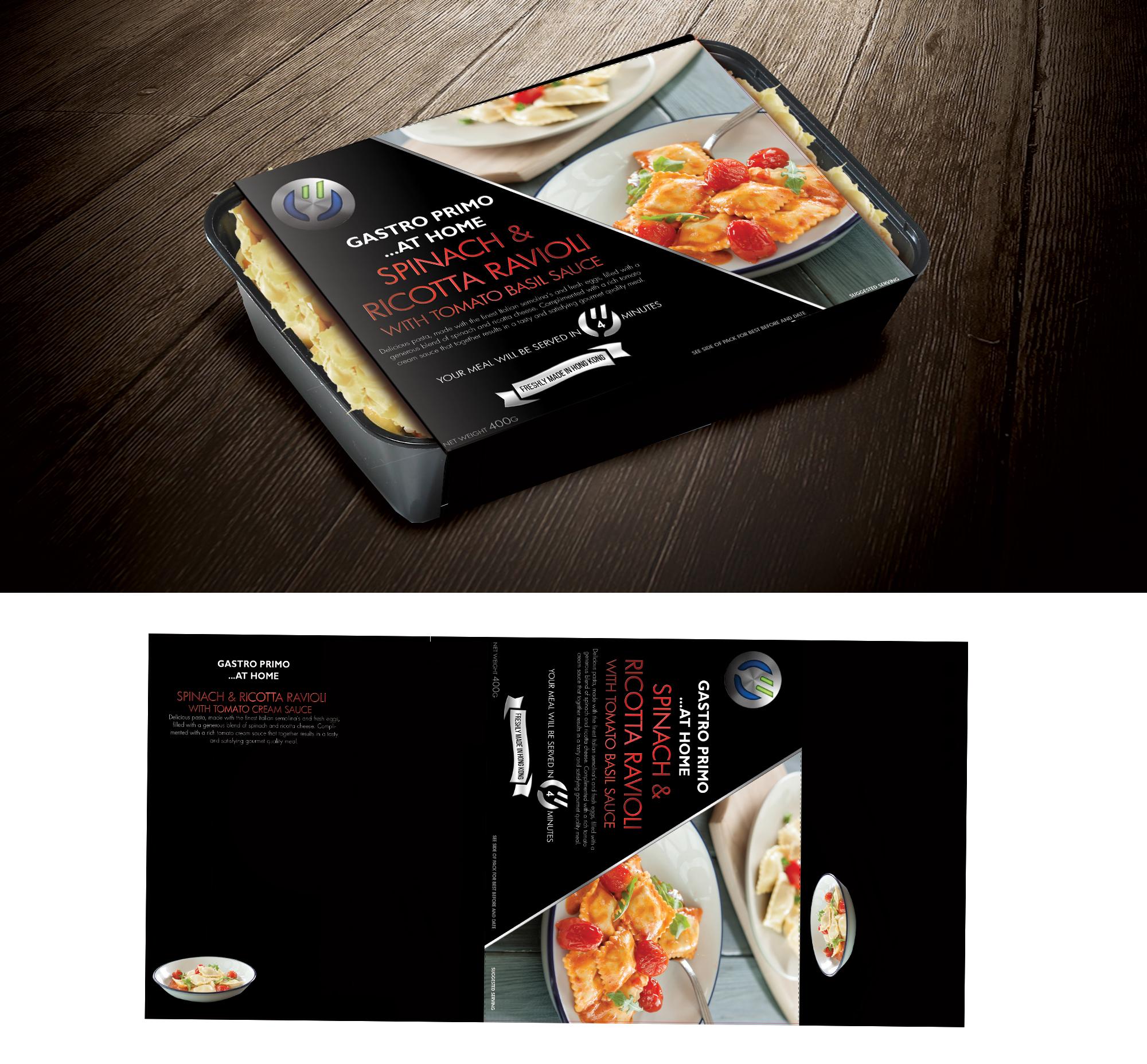 Spinach & Ricotta Ravioli With Tomato Basil Sauce.jpg