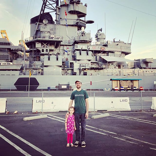It just happened that the last day of #nammshow was also our last full day in LA. We opted to tour the USS Iowa. Could I have been on the show floor meeting more great people and networking? Sure! Was it worth it to share some indelible history with my family? Without question. #history #ussiowa #ww2 #NAMM