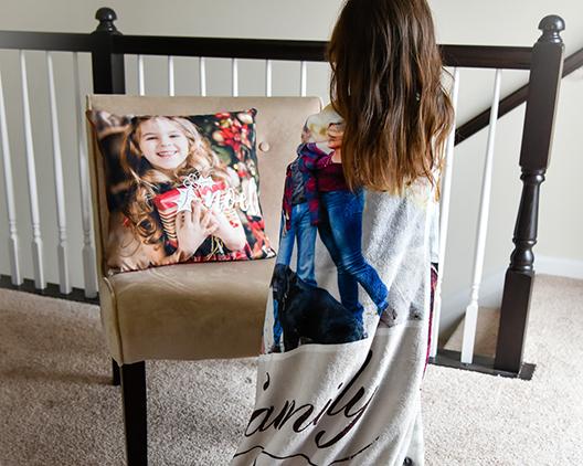 40% OFF Photo Blanket -