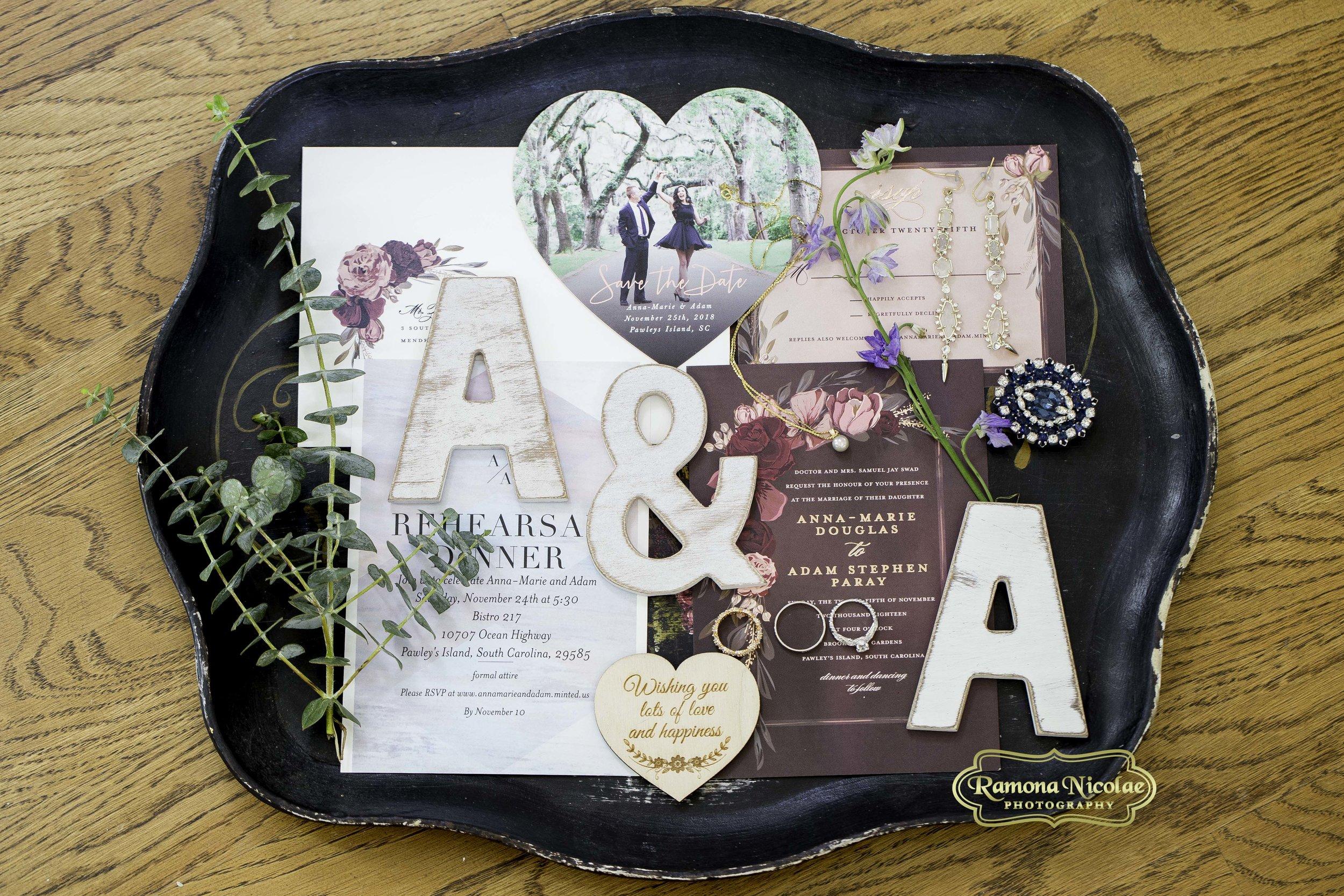 wedding details at brookgreen gardens with rings ramona nicolae photography .jpg