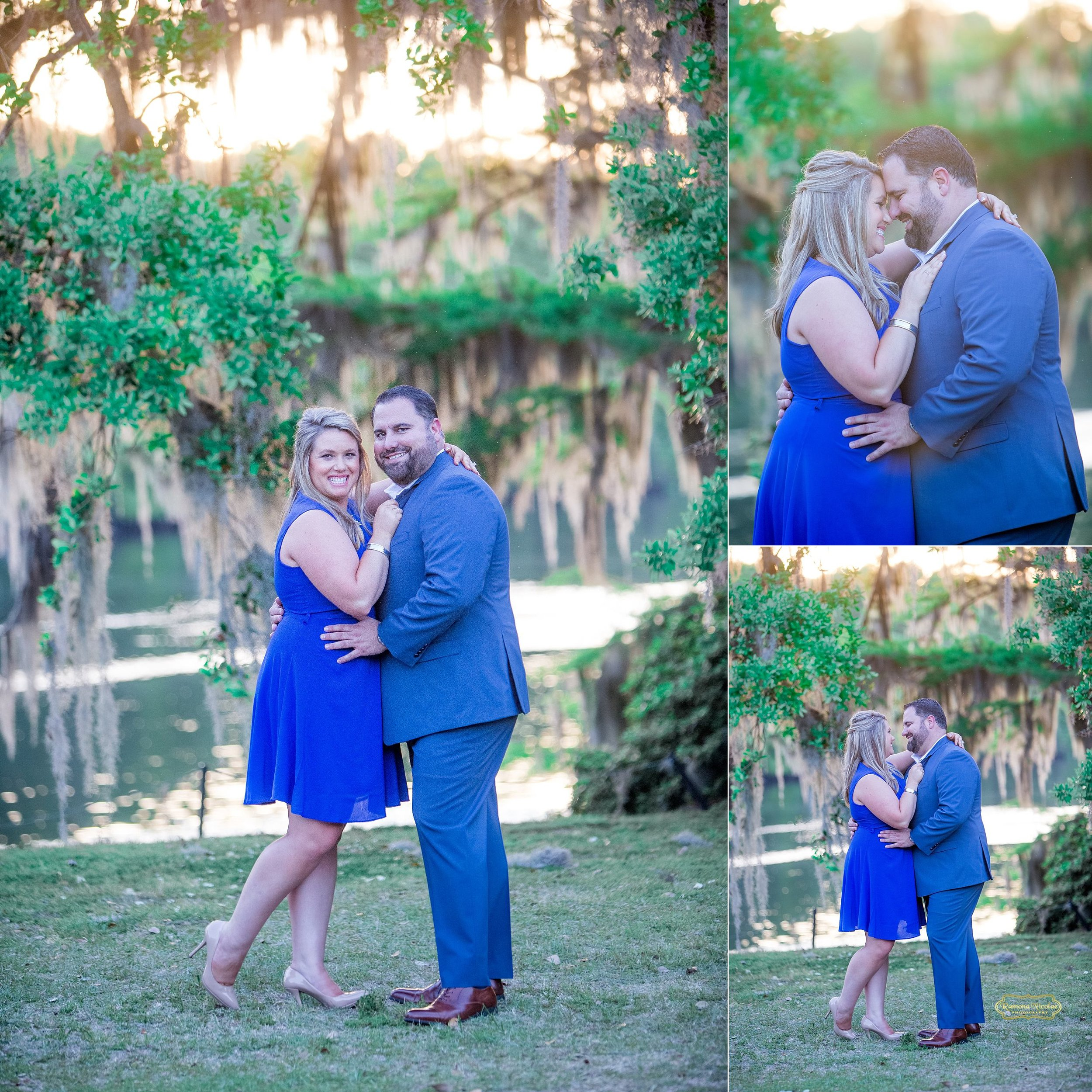 happy embracing couple at wachesaw plantation.jpg