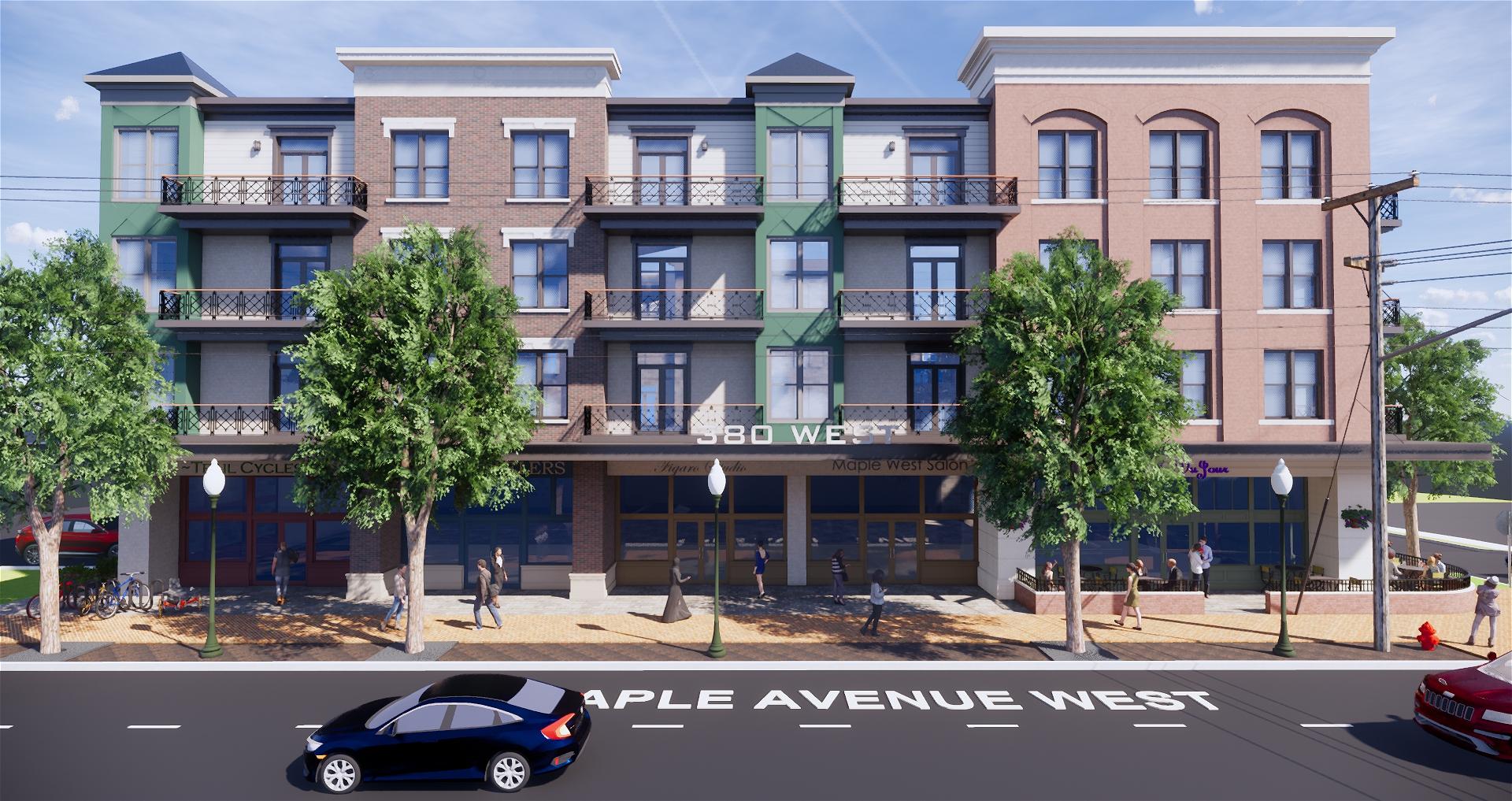 Maple Avenue Perspective