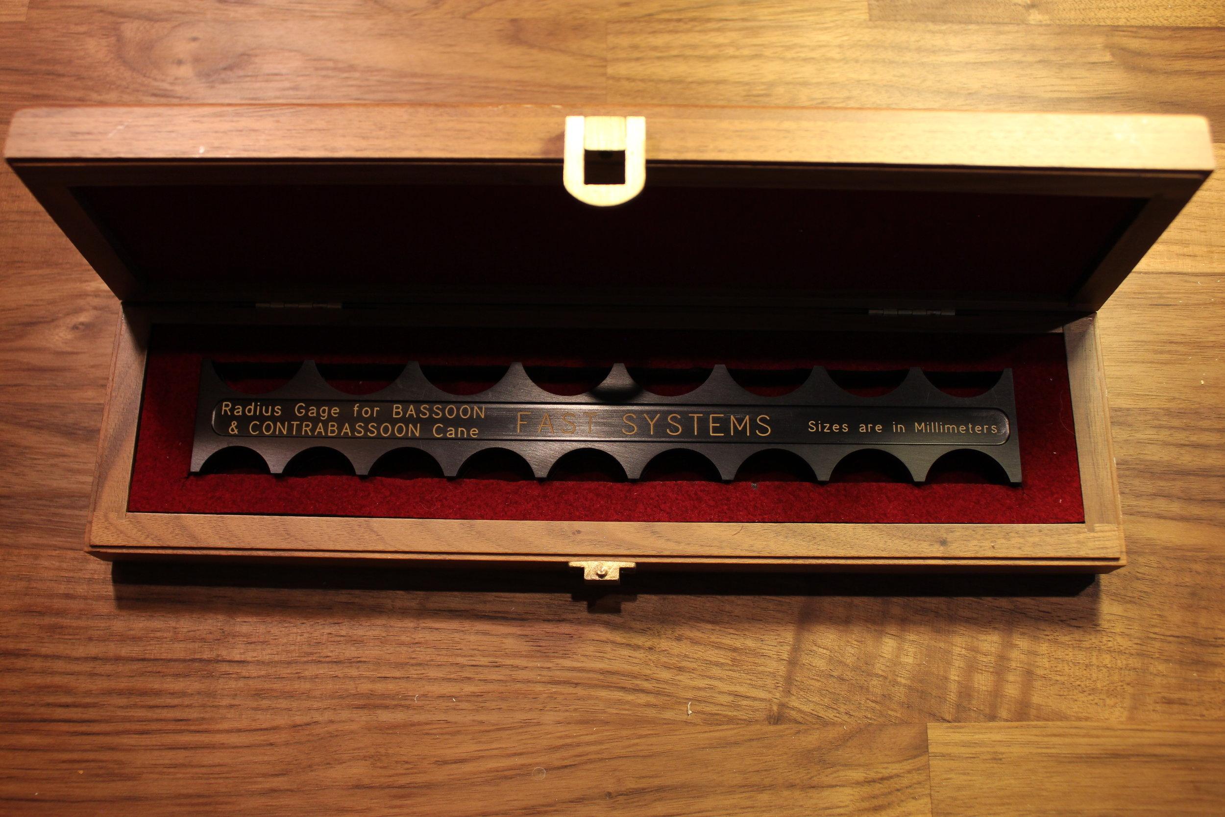 Radius Gauge - Fast Systems (Arlen Fast, NY Philharmonic)