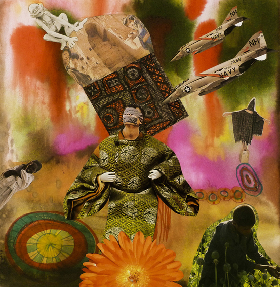 Poppies, Gollum & a Blown Up Buddha