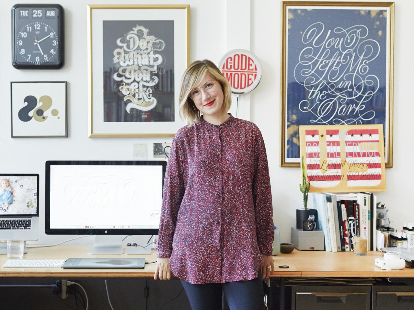 Dagmar Studios Portrait Photography | Jessica Hische | Helena Price