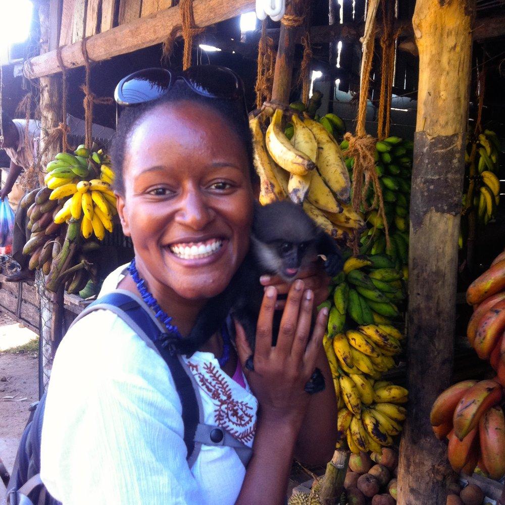 Patricia in Sri Lanka