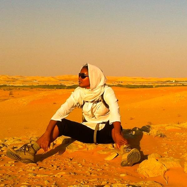 On a Hike outside Riyadh, Saudi Arabia