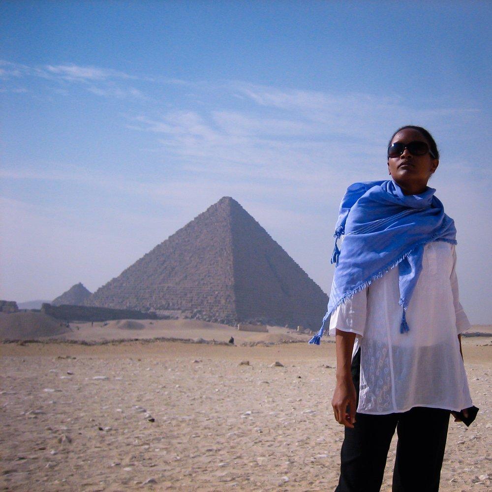Pat in Egypt