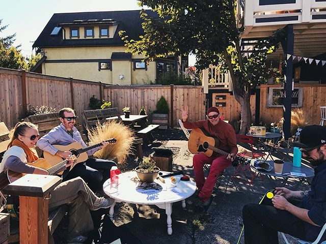 Come enjoy the sunshine with us and listen to some local music!