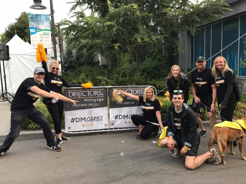Our Directors Mortgage team participated and sponsored the 2017 St. Jude's Run to End Childhood Cancer. They exceeded our goal of raising $1000, which helped the fundraiser reach $155,000 towards St. Jude's fundraising goal!