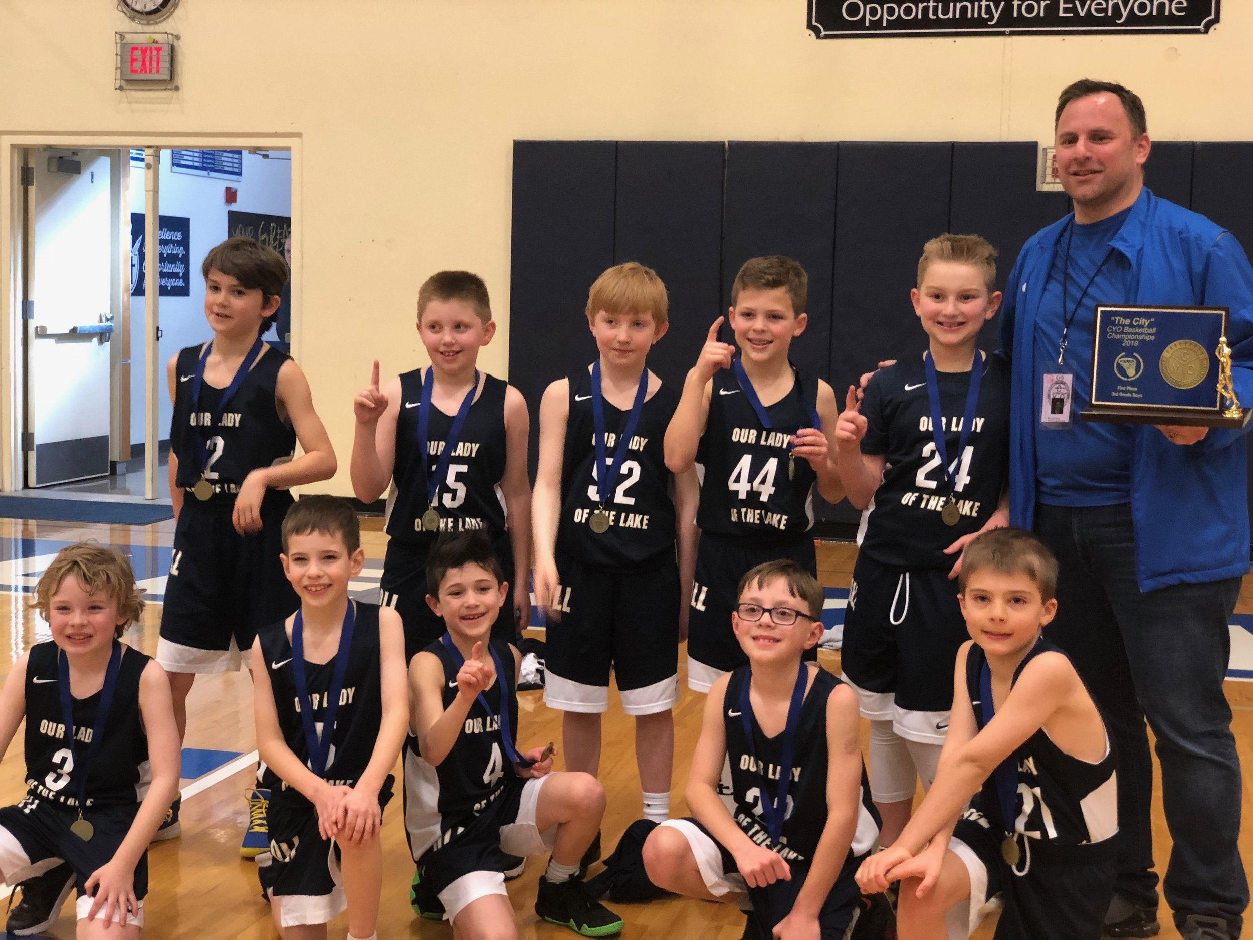 Community involvement is a top priority for Directors Mortgage Founder & Owner Mark J. Hanna, shown here coaching youth basketball.