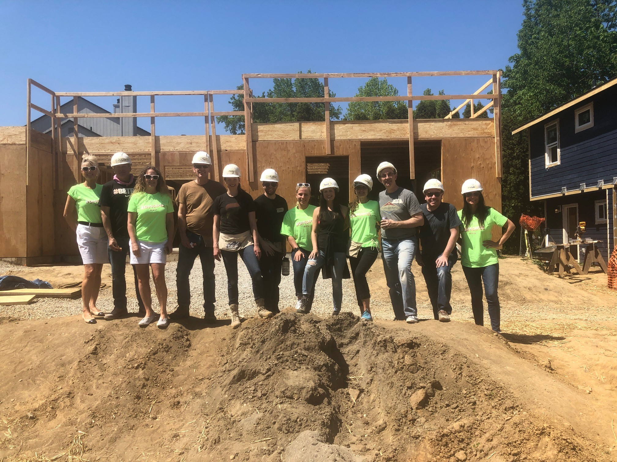 Habitat for Humanity Team Build Day
