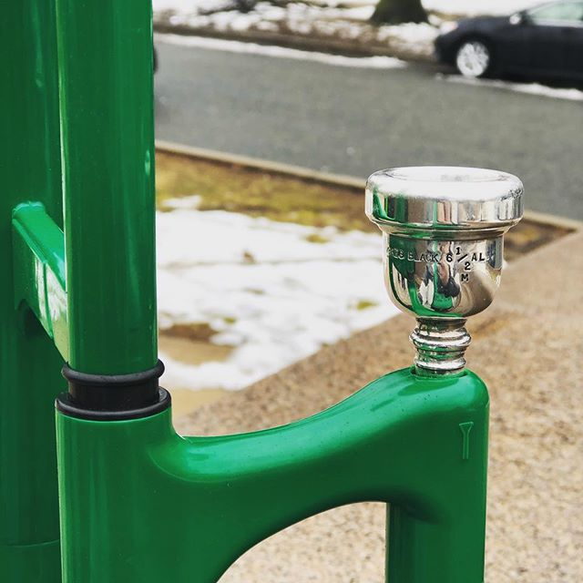 That awkward moment when your mouthpiece costs more than your horn.....#stpatricksday #craftsmanship #itainteasybeinggreen