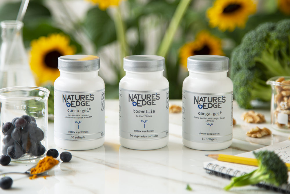 Discover Our Leading Edge Supplements to Support the Body's Natural Response to Fight Inflammation