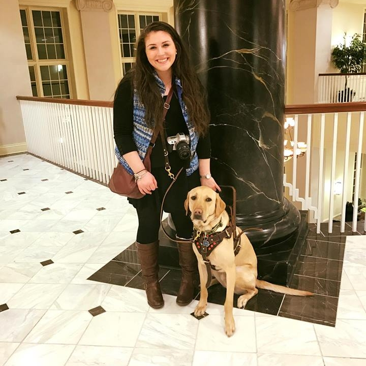 Chloe & Clutch at the Maryland State House