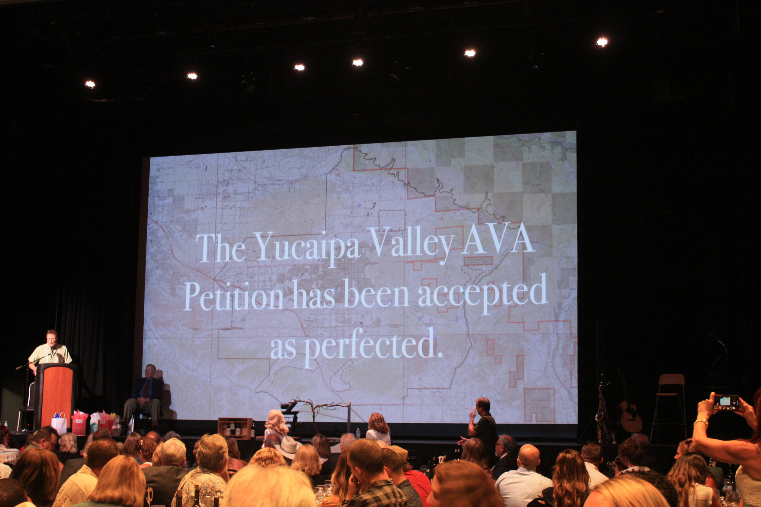 Yucaipa Valley AVA Petition Accepted as Perfected -