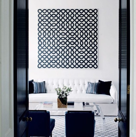 There are so many designers we can't wait to meet this weekend at #LuAnnNigaraLive, such as Kesha Franklin, principal at @haldeninteriors, who designed this gorgeous black and white living room! • • • Photo: @haldeninteriors  #awelldesignedbusiness #awelldressedhome #awelldesignedbusinesspodcast #nj #shorthillsnj #nychomes #dreamspace #livingroomgoals #interiordesign #interiors4all #femalefounders #modernspaces