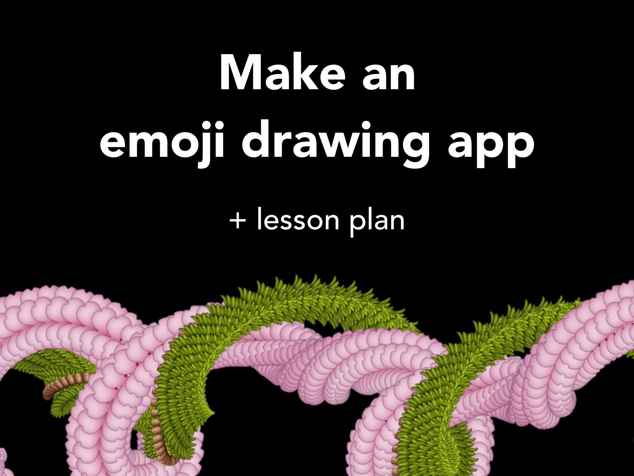 Make Emoji Draw