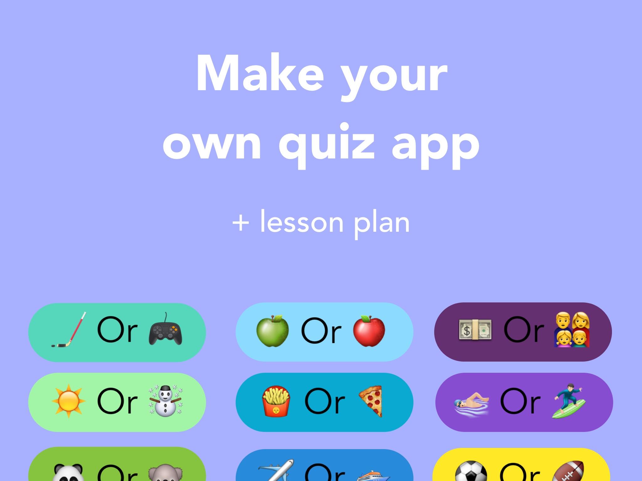 Make a Quiz App