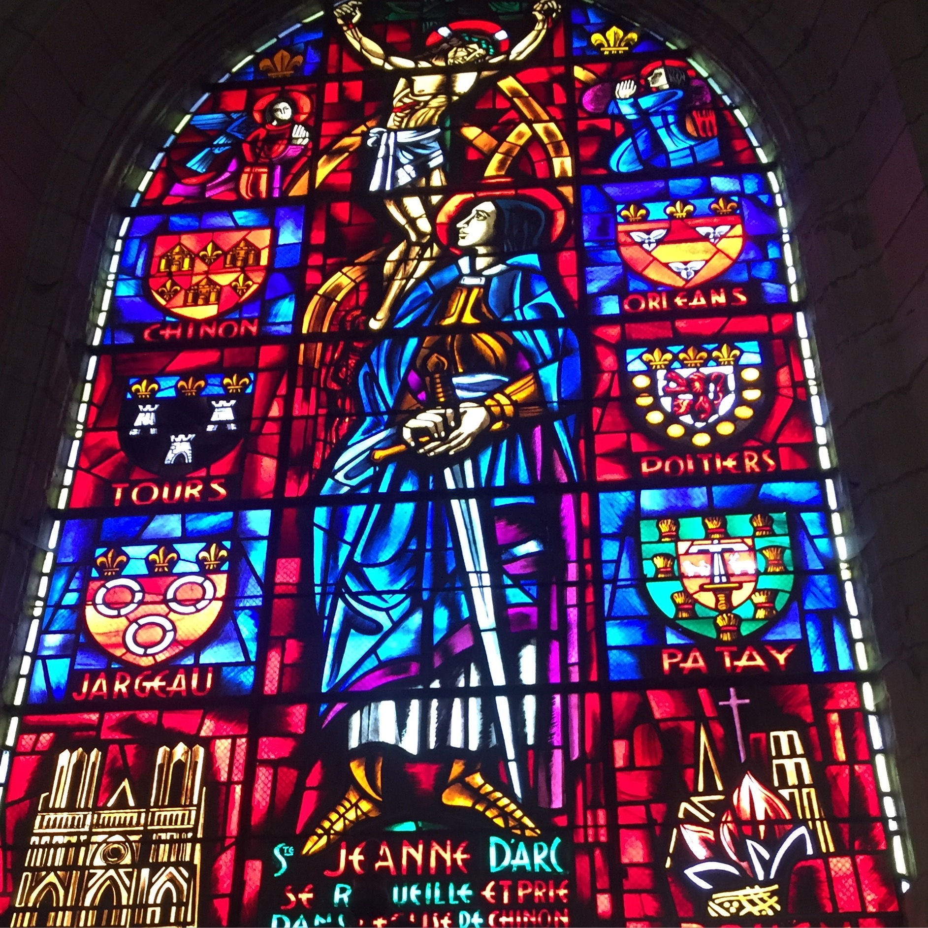 Joan of Arc and Chinon