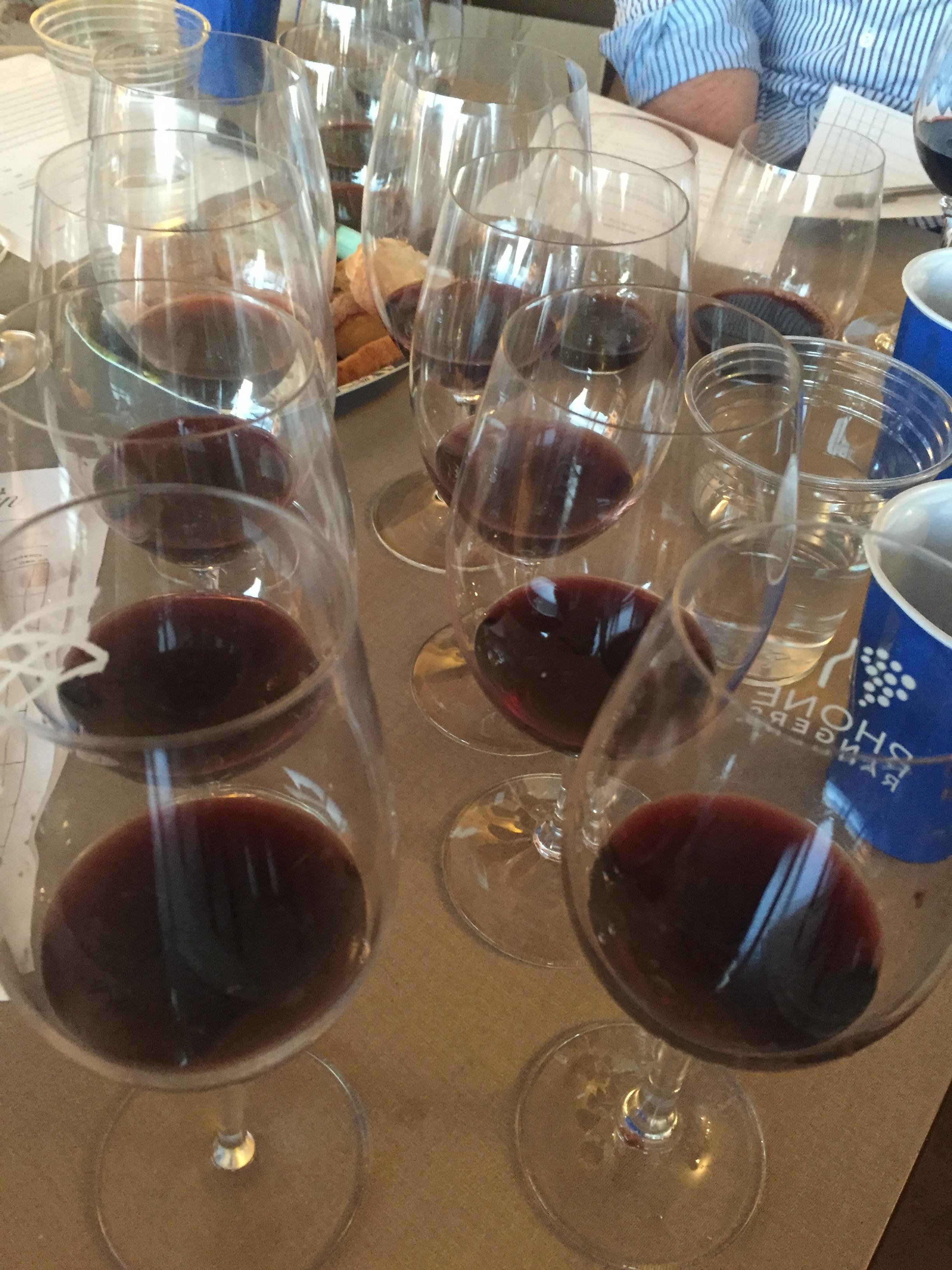 eight Mourvèdre-based wines